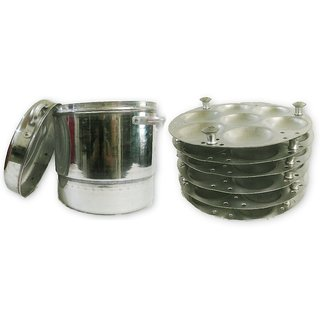 Aluminum Big Large Jumbo Commercial 42 Idli Idly Cooker Steamer Pot South Indian