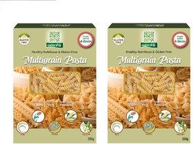 NutraHi Multigrain Gluten free pasta 250g each ( Pack of 2)