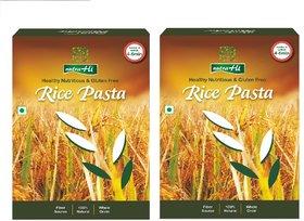 NutraHi Rice Gluten free pasta 250g each ( Pack of 2)