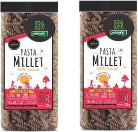 NutraHi Millet Gluten free pasta 200g each ( Pack of 2)