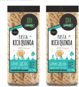 NutraHi Rich Quinoa Gluten free pasta 200g each ( Pack of 2)
