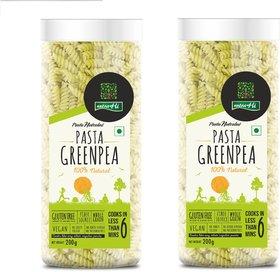 NutraHi Greenpea Gluten free pasta 200g each ( Pack of 2)