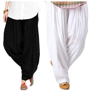Ruchika Impoted Xxl Size Cotton Semi Patiala Salwar For Women