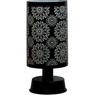 Fos Lighting Flower Mesh Cylinder Table Lamp
