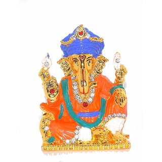07cb0487a5e6 Buy Rudra Divine Siddh Ganesh Ji Spiritual Idols Decorative Puja Vastu  Showpiece Idols for car Dashboard Online - Get 50% Off