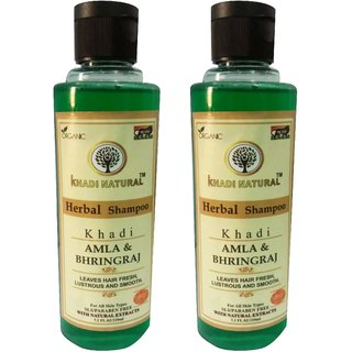 Khadi Pure Amla and Bhringraj Shampoo