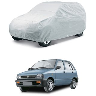 HMS SILVER CAR BODY COVER FOR MARUTI-800