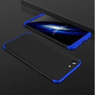 OGW OPPO F5 -3 IN 1 CASE COVER BLACK  BLUE