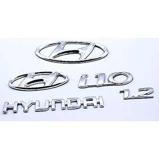 Customize Hyundai i10 1.2 Hyundai Emblem Kit
