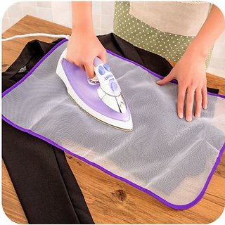k kudos Ironing Mesh No Melt Pressing Cloth for Easy Ironing and Protection (Pack Of 1)