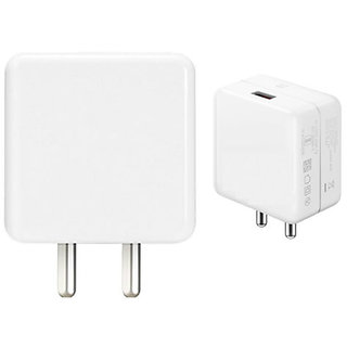 New 4 AMP Dash Charger for One Plus 3 / One Plus 3T (Only Charger) - White Color