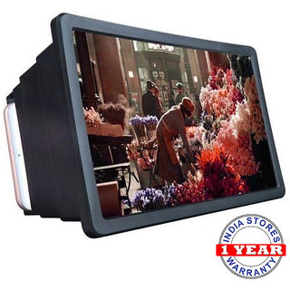 INDIA STORES Mobile F2 3D Screen Magnifier Enlarger with Waterproof