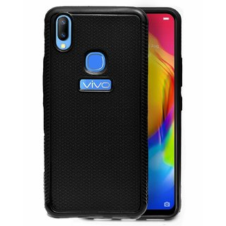 ECellStreet Comfort Grip Feel Premium Soft Back Cover Protective Case For Vivo Y83 Pro - Black