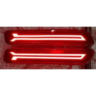 Rear Bumper Reflector Led Brake Fog DRL, for Maruti Suzuki Ciaz, Baleno,S Cross,Brezza, Ertiga,Ritz,New Dzire