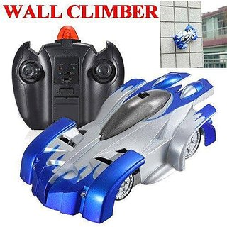 Remote Control Wall Climbing Climber Stunt Toy Car,