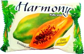 Harmony Sweet Papaya Soap - 75g (Pack Of 3)