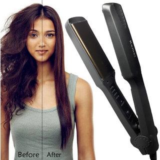 Professional Solid Smooth Ceramic Anti-Static Travel Hair Straightener Flat Hair Iron Hair Styler Salon Style Tool 50W