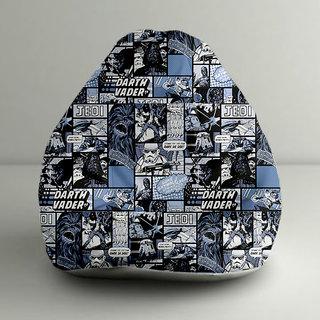 Amazing Orka Star Wars Darth Vader Digital Printed Bean Bag Xxl Filled With Beans Machost Co Dining Chair Design Ideas Machostcouk