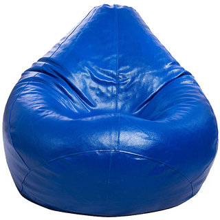 StyleCo Large Size ( L Size )  Modern Classic Bean Bag Without Beans  - Blue
