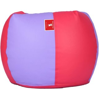 Sicillian Bean Bags Bean Bag - Size Xxl - Without Fillers - Cover Only (Lavender & Pink)