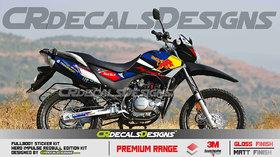 CR Decals HERO IMPULSE Custom Decals/ Stickers/ Wrap REDBULL Edition Kit