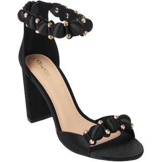 b8a91addd78 Buy Catwalk Women s Black Block Heels Online - Get 20% Off