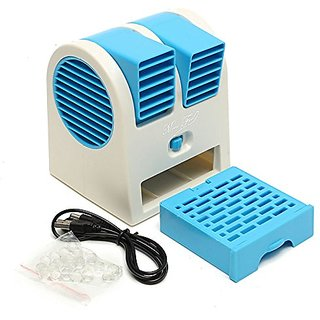 Avionics Mini Fan Portable Dual Bladeless Small Air Conditioner Water Air  Cooler Powered By Usb Battery Use Of Car/