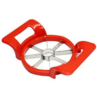 Famous Apple Cutter Slicer With Push Handle Unbreakable Removes Center Core With 8 Pieces / Slices
