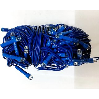 12M 54 LED Colour Blue Home  Christmas Decorative xmas String Fairy  Garlands Party Lights For Wedding