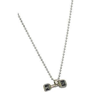 My Design Silver Plated Boys Locket Chain