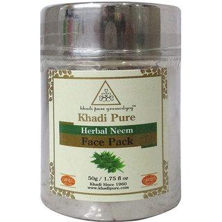 Khadi Pure Herbal Neem Face Pack - 50g