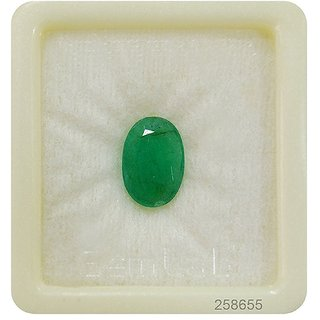 Panna 5 Ratti Beryl Emerald (Panna Stone) 100 Original Certified Natural Gemstone AAA Quality
