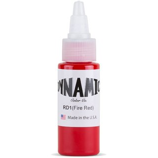Dynamic Professional Tattoo Ink (1 oz) (Fire Red)