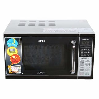IFB 20 L Grill Microwave Oven (20PG4S Black/ Silver)