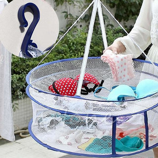 Folded Clothes Basket