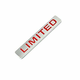 Customize 3D car Logo Metal Limited  Emblem/Tail / Rear Trunk Adhesive with Limited Logo