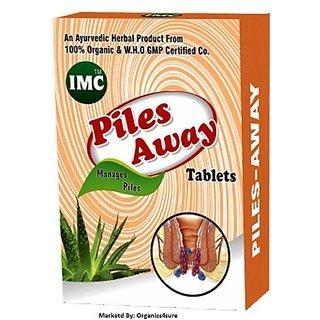 IMC Piles Away (30 Ayurvedic Tablets) Chemical Free