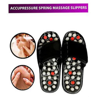 Paduka01 Accu Paduka Foot Massager Massager (Assorted Color)