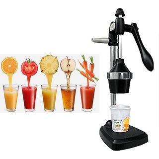 Aluminium Classic Hand Pressed Juicer Manual Citrus Juicer for orange pomegranate lime Fresh Healthy Juice Anytime