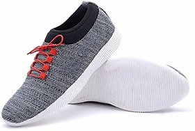 Free Feet Gray Running Shoes For Men/Boys