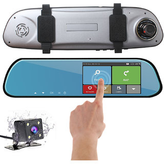 Gizmobitz HD Touch Dual Lens Driving Recorder