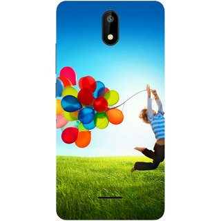 Back Cover for Micromax Spark 4G (Multicolor,flexible,Case)