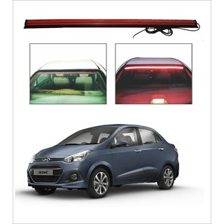 Buy Trigcars Hyundai Xcent Car Roof Line Led Third Brake Light Kit