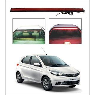 Trigcars Tata Tiago Car Roof line LED Third Brake Light Kit Above Rear Windshield + Free Car Bluetooth