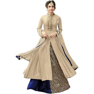 V KARAN  Embroidered Women Anarkali Kurta
