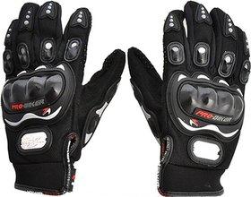 Deepsell  Black Winter Pro Biker Gloves1119