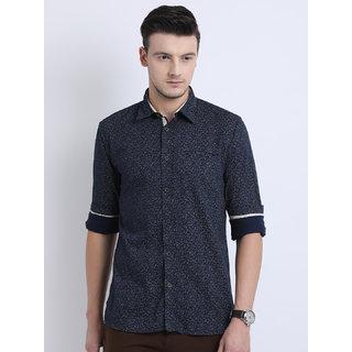 Jdc Casual Printed Shirt - Blue