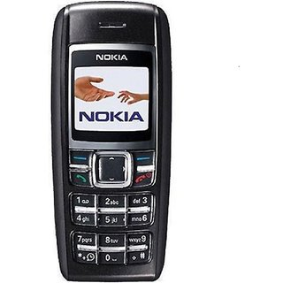 Refurbished Nokia 1600- Black (6 Months warrantyBazaar Warranty)