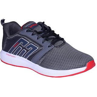 CAMPUS GREY COLOR RUNNING / LIFESTYLE SPORTS SHOES FOR MEN