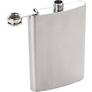 Premium STAINLESS STEEL HIP FLASK WINE Bottle Alcohol Beverage holder (8 Oz)